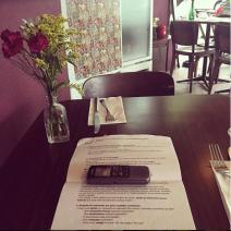 Pesquisa Toddynho, em um Restaurante.